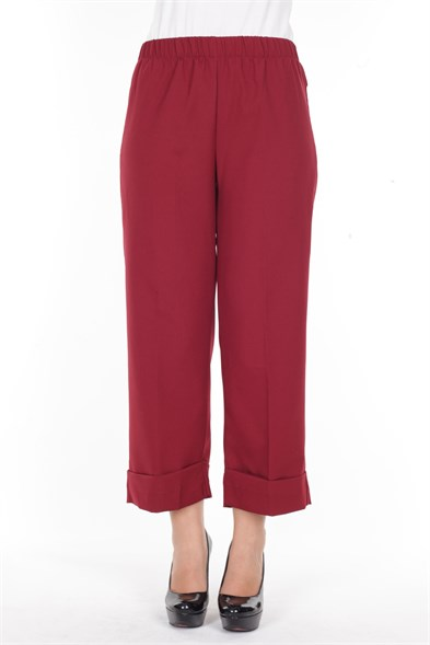 Pants PRYL 0011 Claret Red