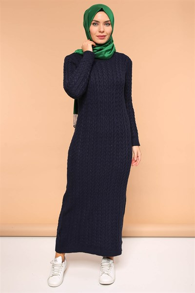 Dress TMS04 Navy Blue