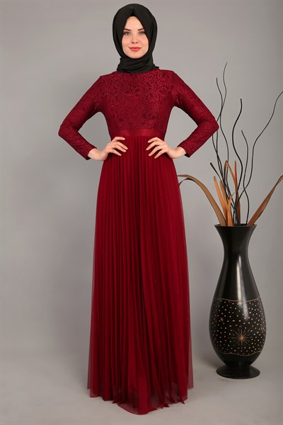 Evening Wear ARN39071 Claret Red