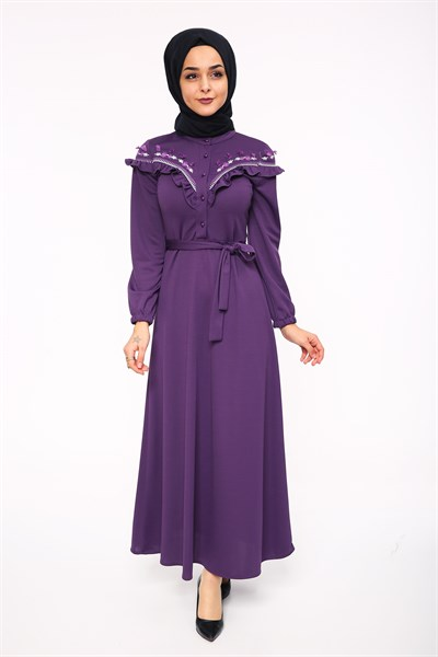 Dress 5460 Purple